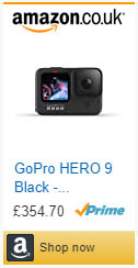 GoPro HERO 9 Black,Waterproof Action Camera,LCD and Touch Rear Screens, 5K Ultra HD Video, 20MP Photos, 1080p Live Streaming, Webcam, Stabilization,Camera & Photo